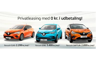 Privatleasing 0 Kr.