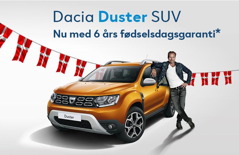 6 år med Dacia Duster