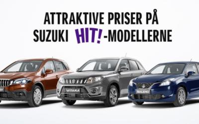 Suzuki kampagnemodeller
