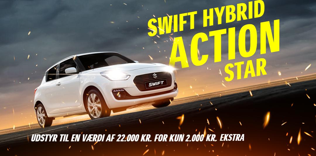 Suzuki Swift Hybrid Action Star